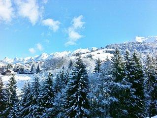 Chalet Ski au Pied 3 étoiles, 3 chambres à coucher - La Clusaz
