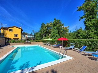 Villa in Anghiari with 9 bedrooms sleeps 20