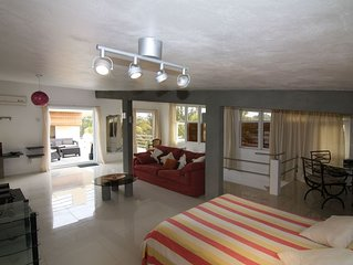 Luxurious  Duplex Villa PROMO JAN-JULY 60 L(2-6 Pax)G.BAY/PEREYBERE