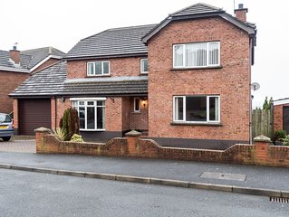 Best View in Belfast! Spacious four bedroom family home