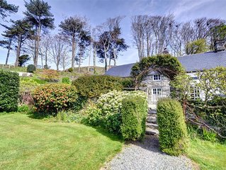 Thoughtfully converted from the original stable block of the estate, Stable Cott
