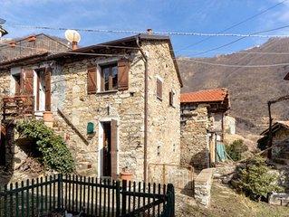 Bel rustico nella incontaminata Valbrevenna (entroterra di Genova)