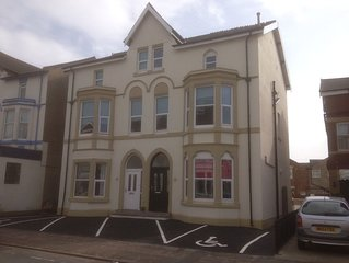 Large spacious 3 bedroom family apartment on 2nd floor, use of decked area