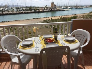 First Floor Apartment with lovely views of Mar Menor and waterway