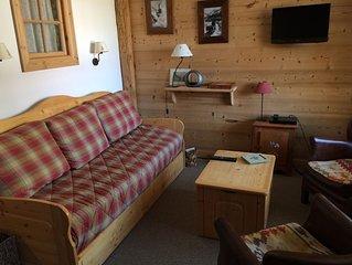 Chaleureux appartement dans residence calme a Val d'Isere