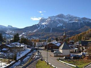 Appartamento con vista mozzafiato sulle Dolomiti di Cortina d'Ampezzo