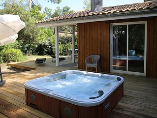 Très jolie maison 2 chambres avec jacuzzi au Cap Ferret à louer toute l'année