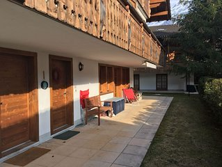 Apartment in an idyllic alpine village; perfect to enjoy the outdoors