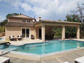 Villa in Plan de la Tour, Golf de St Tropez/Ste Maxime, Cote D'Azur France