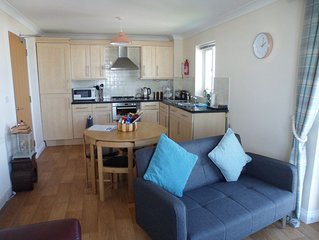 Luxury apartment with breathtaking seaviews of the world famous Fistral Beach