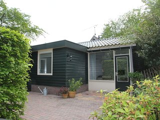 Bungalow for 8 people on the edge of the forest located between Egmond & Bergen