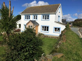 Recently refurbished with Sea views, secluded location and self contained garden