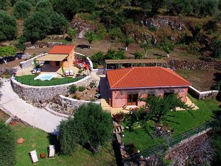 Acropolis Villa Kefalonia with stunning view,  outdoor Jacuzzi & privacy