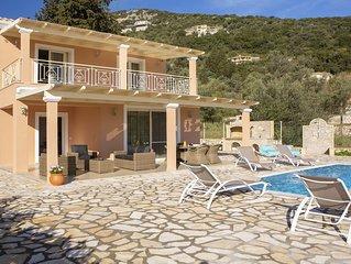 Brand New 2 bed - 2 bath, (Sleeps 6) private pool, sea views and vegetable garde