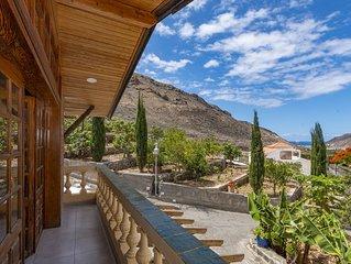 Casa de vacaciones con piscina compartida en Mogan