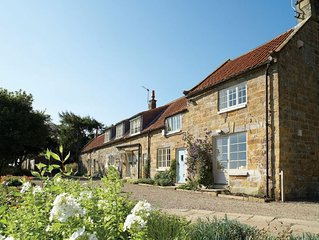 This detached farmhouse in the heart of the North Yorkshire Moors has stunning v
