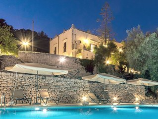 sicilian ancient estate with pool