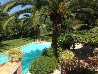 Schitterende Villa met privé-zwembad, prachtig gelegen, volledige privacy