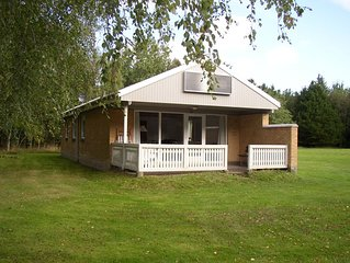 82 m2 nice well kept holiday house in a peaceful surrounding. Sillerslevøre/Mors