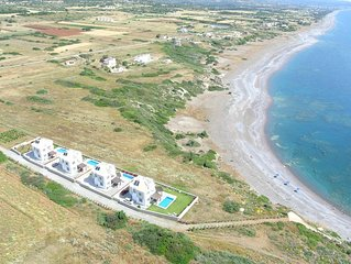 Olga Villas at Lahania Beach, South Rhodes  (Villa B)
