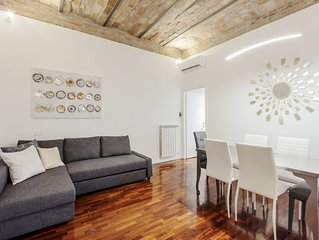 Amazing 2 bed flat near Trevi fountain