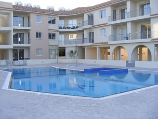 Luxury Apartment With Large Balcony, Pool.  FREE WIFI, Internet TV and Sea Views