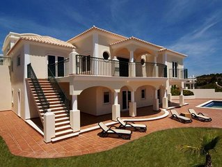 Panoramic Ocean View Villa with Private Pool only meters from the Beach