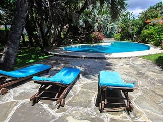 Relax poolside or at the Watamu beach and return to enjoy the great amenities