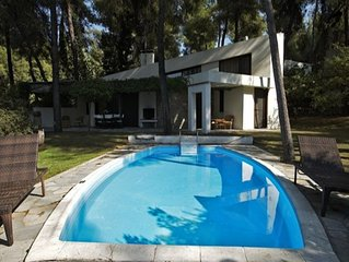 Large villa in Sani with a private swimming pool