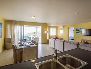 6 persoons Deluxe Oceanview Apartment te Blue Bay