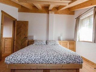 Elegante appartamento con terrazza a Cortina d'Ampezzo- 5 posti letto- WIFI