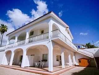 """Villa Baia Azzurra A 3 MT DAL MARE - APPARTAMENTO """"AURORA'"""