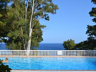 Kefalonia Greece: 2 bedroom apartment, swimming pool near beach. Vigla village