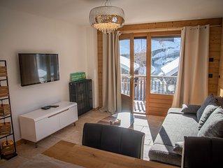 Magnifique appartement de montagne plein centre