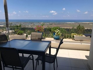 Amazing Panoramic Sea View House in Zikhron Ya'akov - The Provence of Israel