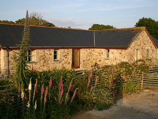 Barn Conversion, in peaceful location close to secluded coves, Coverack, Lizard