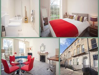 Peaceful Central Bath Apartment (GP)