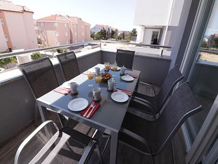 One bedroom apartment with terrace Novalja (Pag) (A-17049-j)