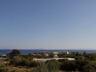 2 Bedroom Villa with Sea View B, Nees Kydonies Lesvos