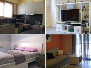 Alkyon Apartment- Loutsa, Athens Airport - by the beach