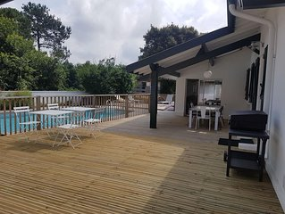Maison Landaise au calme renovee avec piscine a Capbreton