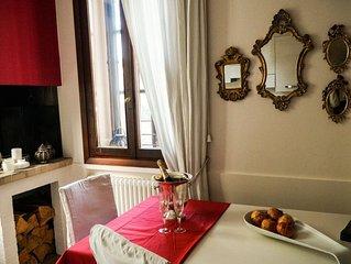 Mini appartamento arredato in Villa Liberty con giardino presso centro Vicenza