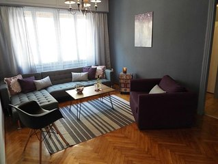 'Chez Violet'➧ Stylish apt close to Athens center