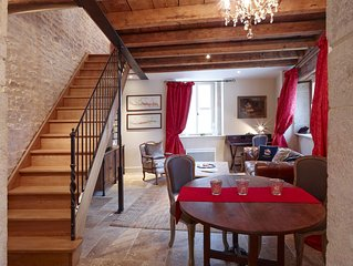 Chez Hall – Le Coin. gorgeous, quality 1bdr/1bth Cottage, Meursault centre