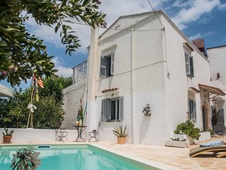 Traditional Stone Village House with Pool, Near to Chania and Beaches