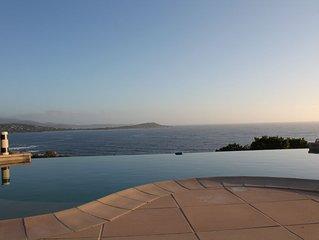 Villa 250m2 sur la rive sud d'Ajaccio superbe vue mer, proche plage et commerces