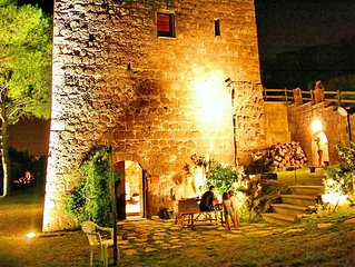 'COUNTRY HOUSE LA TORRE' - TORRE MEDIOEVALE - TUSCANY - VITERBO - ROMA