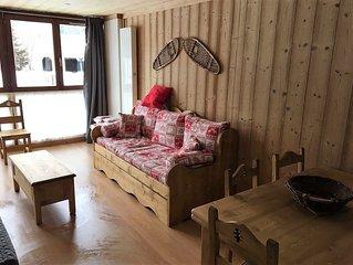 Les Terrasses du Mont Blanc, Location appartement 6 couchages dans Residence.