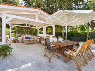 private pool villa Ideally located just 50m from sandy Lido beach in Faliraki