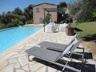 Villa, Etage de Mas provençal indépendant Free Wi-Fi air conditionné, TV UK, DE